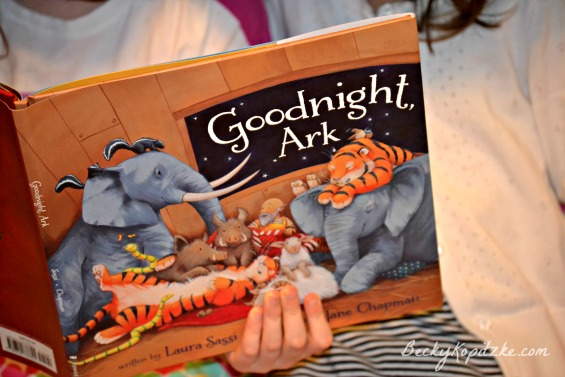 Reading Goodnight, Ark