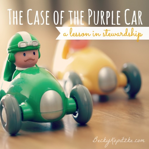 The Case of the Purple Car | Teaching Kids About Stewardship
