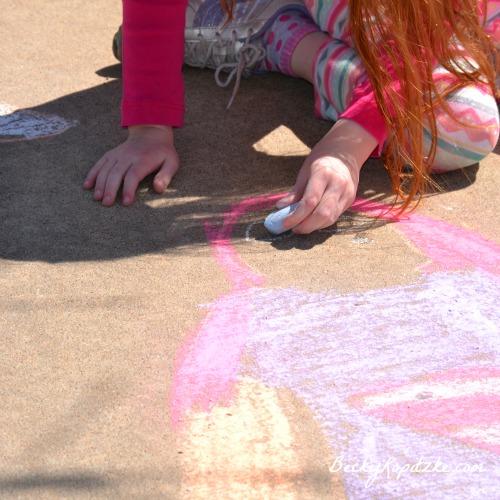 Supergirl-chalk