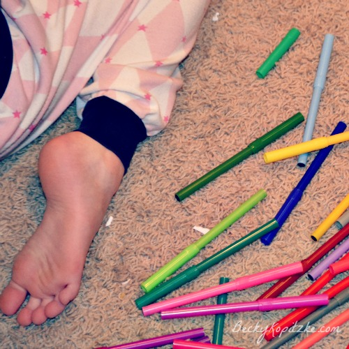 Markers-foot