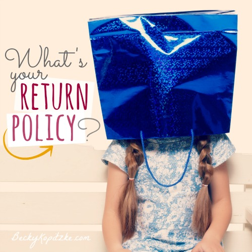 What's Your Return Policy