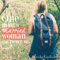 One-Thing-Married-Woman
