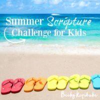 Summer Scripture Challenge