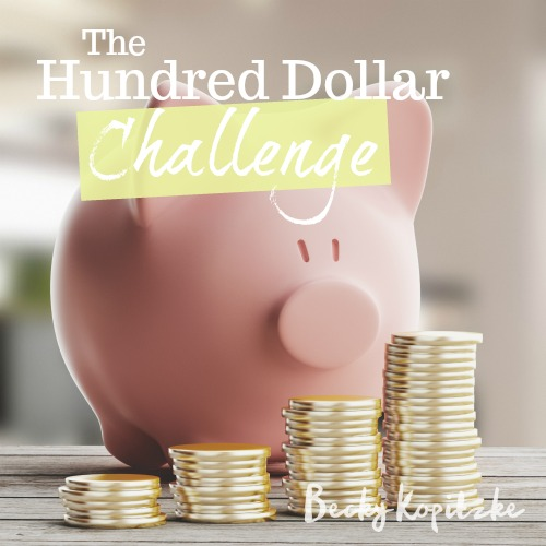 Hundred-Dollar-Challenge