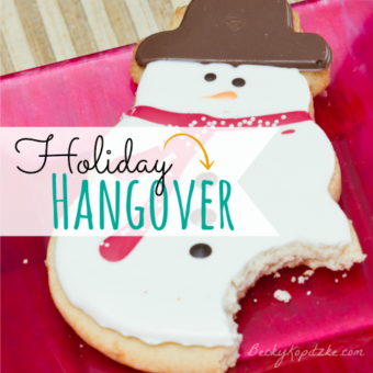 Holiday hangover