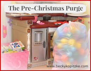 The Pre-Christmas Purge