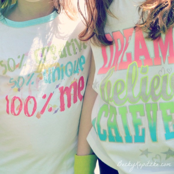 Dream and believe