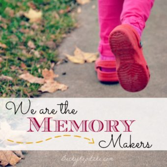 We Are the Memory Makers
