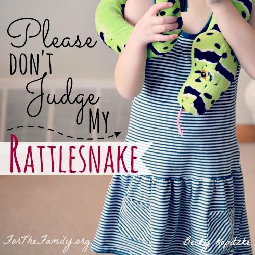 Please Don't Judge My Rattlesnake