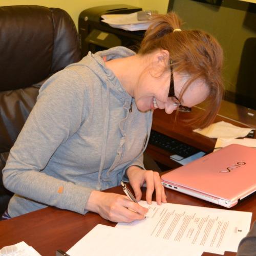 Becky Kopitzke book contract