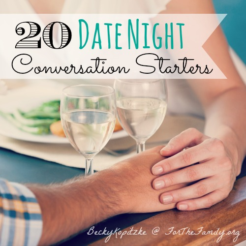 Date night conversation starters