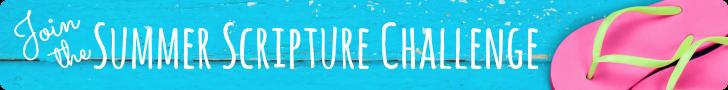 Summer scripture memory challenge