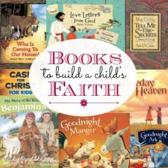 Books to build a child's faith