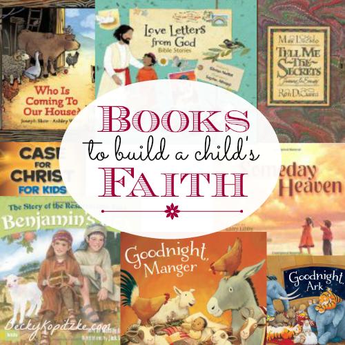 Books to build a child's faith