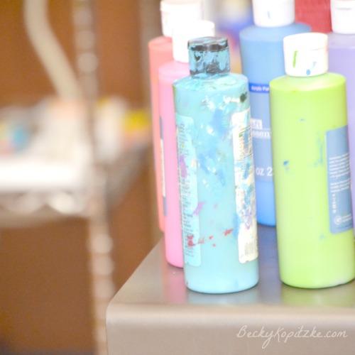 Paint-bottles