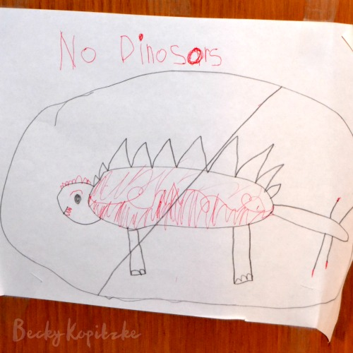No-Dinosors