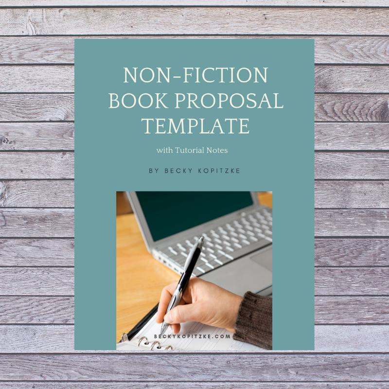nonfiction book proposal template  becky kopitzke